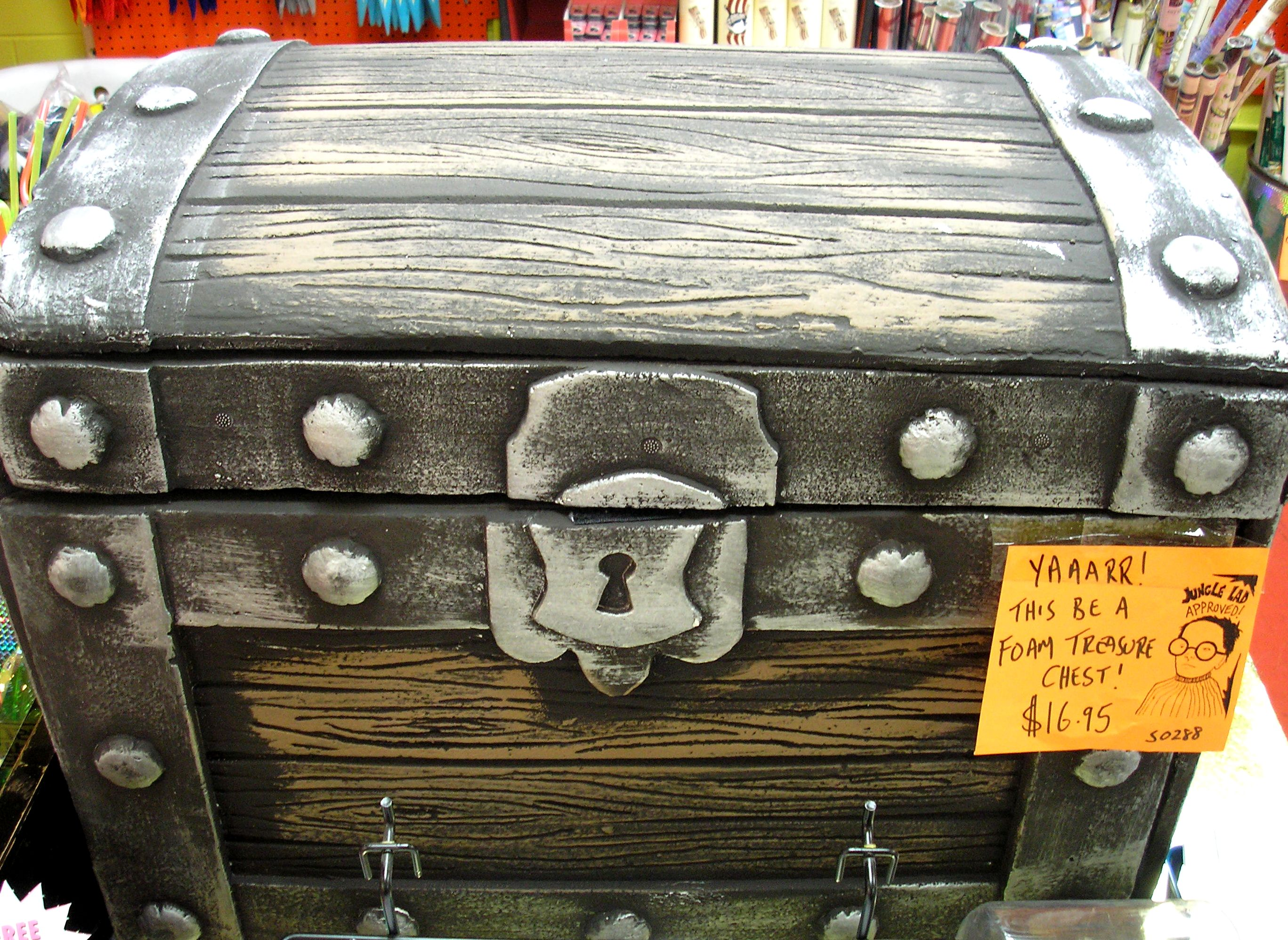 For the home archie mcphee - Large Foam Treasure Chest Archie Mcphee Seattle Store