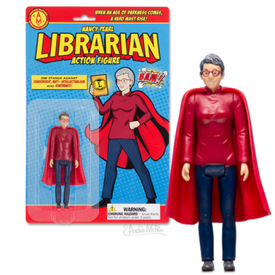 Librarian-Action-Figure